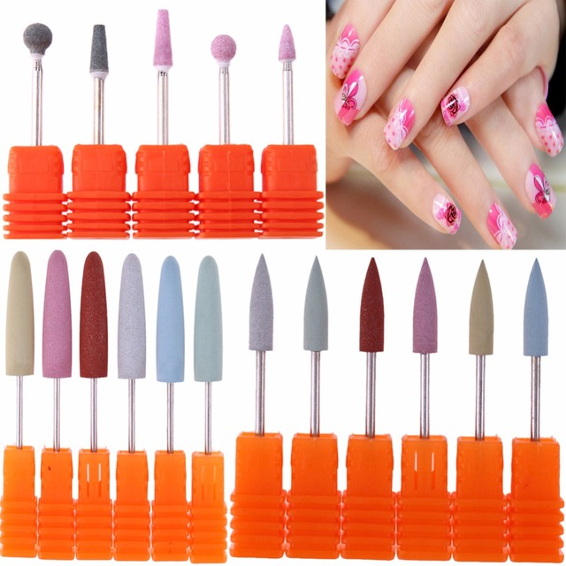 Nail Drill Manicure Replacement Head Grinding File Fingernail Art ...