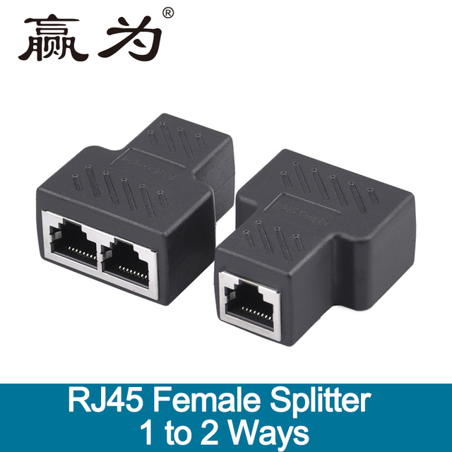 Surprising Network Ethernet Dual Straight Head Lan Cable Joiner Coupler Rj45 Wiring 101 Akebretraxxcnl