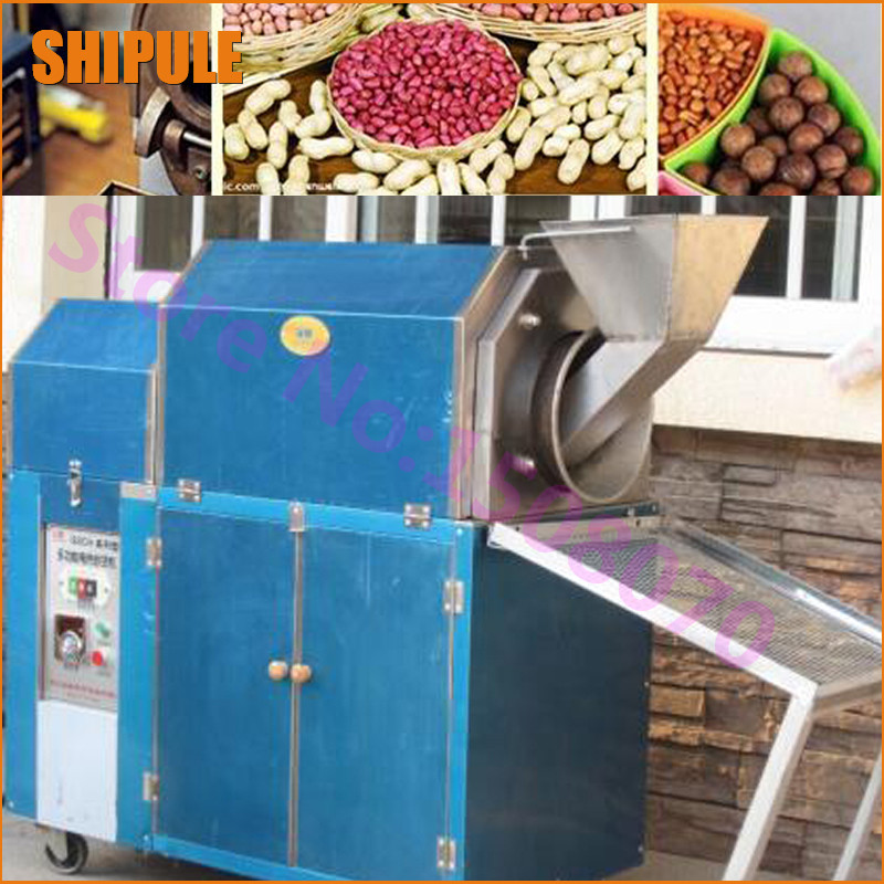 SHIPULE innovative products 2018 high efficiency commercial industrial gas used peanuts roasting machine nut seed roaster price efficiency in commercial banking