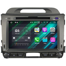 "3G 4G WiFi Android 7.1.2 8 ""2 GB RAM pantalla táctil 1280*480 navegación GPS para kia sportage R 2010 2011 2012 2013 2014 2015"