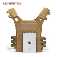 Free Shipping Tactical Accessoris Plate Carrier Magazine Military Molle Body JPC Hunting Shooting Safety Protective Vest