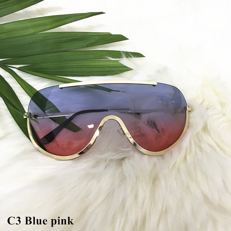 Rimless Gold Clear Sunglasses Men Women Brand Designer Aviator Clear Sunglasses 10