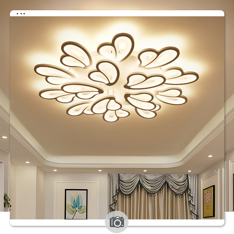 IRALAN modern led chandelier with remote control acrylic lights For Living Room Bedroom Home lighting ceiling IRALAN modern led chandelier with remote control acrylic lights For Living Room Bedroom Home lighting ceiling Fixtures