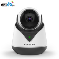 ATFMI Home Security IP Camera WIFI 2MP Two way Audio Micro Fake Camera P2P IP Cmaera Audio Support 433 Expansion Max 64G TF Card