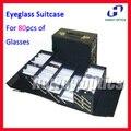 A80 Складная Очков Очки Оптические Frame Очки Для Чтения Чемодан витрине Проведение 80 шт. очки
