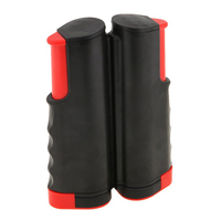 f3d595db7 Portable Retractable Telescopic Table Tennis Net Rack Replacement Ping Pong  Kit Black Red