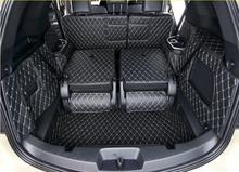 Full Rear Trunk Tray Liner Cargo Mat Floor Protector foot pad mats for 13-17 Ford Explorer 5/7seats 2013-2015 2016 2017(4colors)