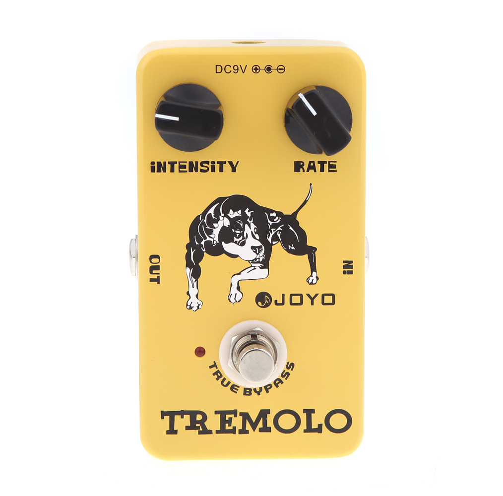 Joyo JF 09 Tremolo Guitar Effect Pedal True Bypass