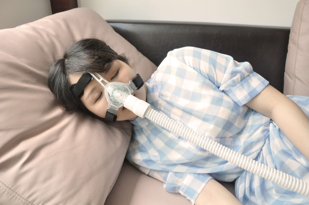 ФОТО Medical Silicone CPAP Auto CPAP BiPAP Bi CPAP Respirator Ventilator Mask Medical Nasal Mask for Sleep Apnea OSAHS OSAS
