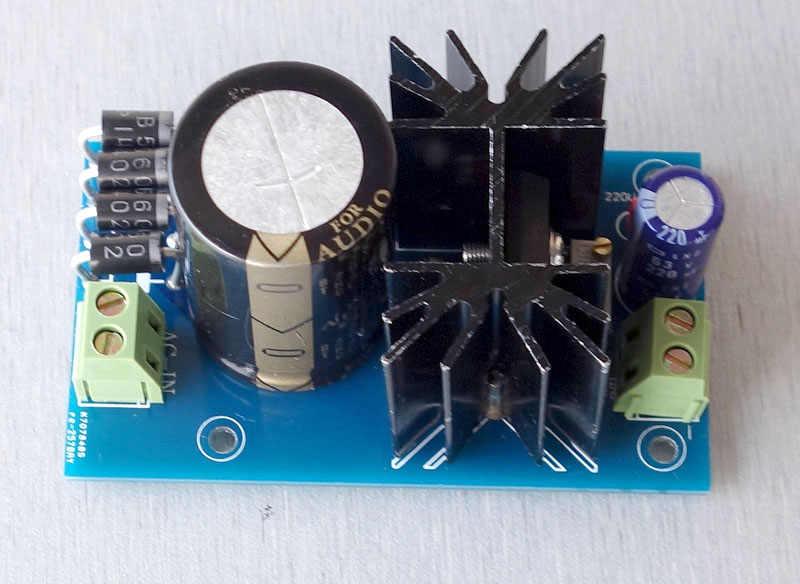Lt1083cp wysokiej mocy liniowe regulowany regulator prądu stałego listwa zasilająca HIFI wzmacniacz liniowy zasilania gotowej płyty