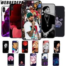 цены на WEBBEDEPP Pop Singer Chris Brown Soft Case for iPhone 5 5S 6 6S 7 8 Plus X XS 11 Pro MAX XR Cover в интернет-магазинах