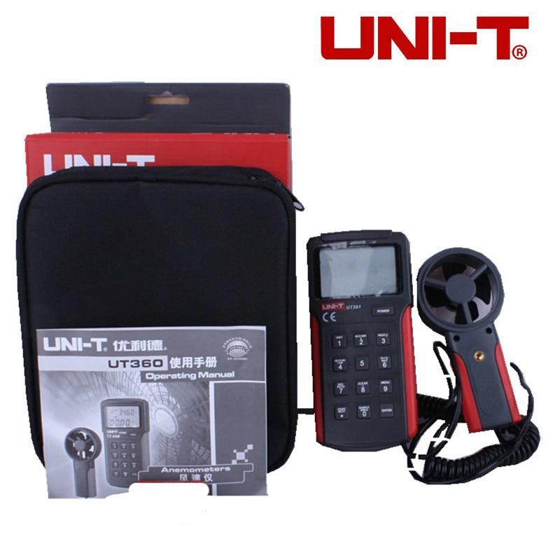 UT361 Handheld Digital anemometer wind speed tester Split Tachometer meter  цены