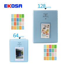 128 Pockets + 64 Pockets Photo Autograph 3 Inches Picture Case with Gifts for Fujifilm Instax Mini Film 7s 8 Camera Accessories