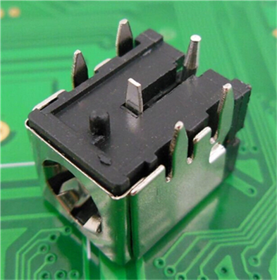 10PCS/LOT DC-007B power socket with iron bracket 5.5 * <font><b>2.1</b></font> <font><b>2.5</b></font> Connector image