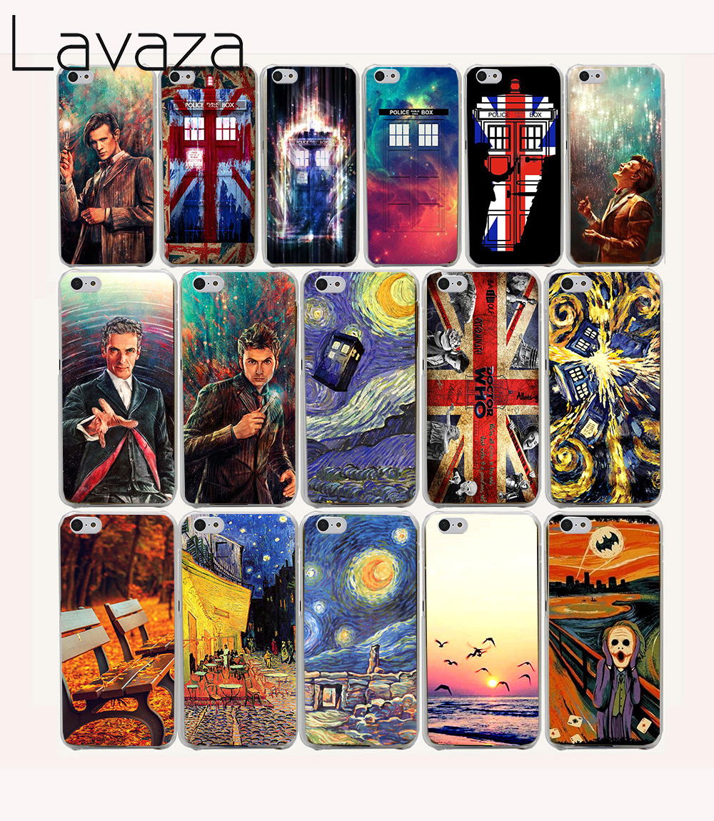 Lavaza 21O Doctor Who Union Jack Tardis Hard coque Case for iPhone 5C fundas cover 5 5S 4 4S 7 PLUS