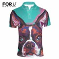 FORUDESIGNS Men Supreme Summer Short Sleeved Polo Shirt Cool Mercerized Cotton Slim Fit Casual Business Men Shirts Luxury Brand