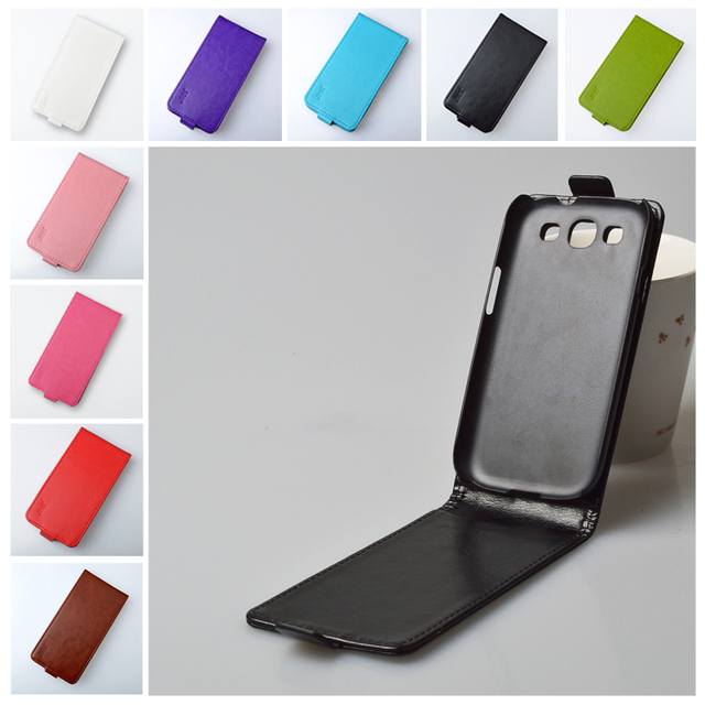 JR Flip PU Leather Case For Samsung Galaxy S3 Neo i9301 GT-I9301 GT-I9301I S III I9300 GT-I9300 Duos i9300i Cover Phone Bag