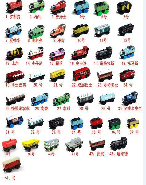 Free shipping Wooden Thomas Trains ,chilren wooden car