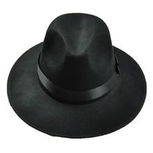 ТОП Флоппи Cloche Котелок Бантом Чувствовал Шляпу Стиль