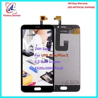 For Original UMI Plus Plus E LCD Screen Display Touch Screen Digitizer Sensor Assembly Replacement 5