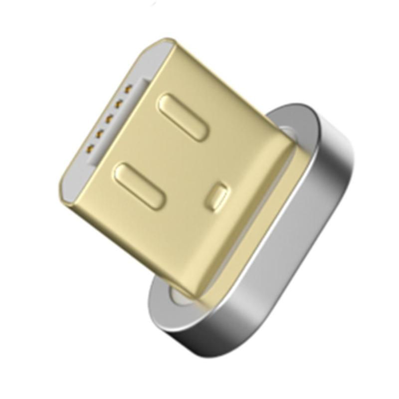 Alloet Magnetic Metal Plug 10 Pin Charging Data Cable Micro USB Adapter Converter Type-c Connector Fast Charging Magnet Charger