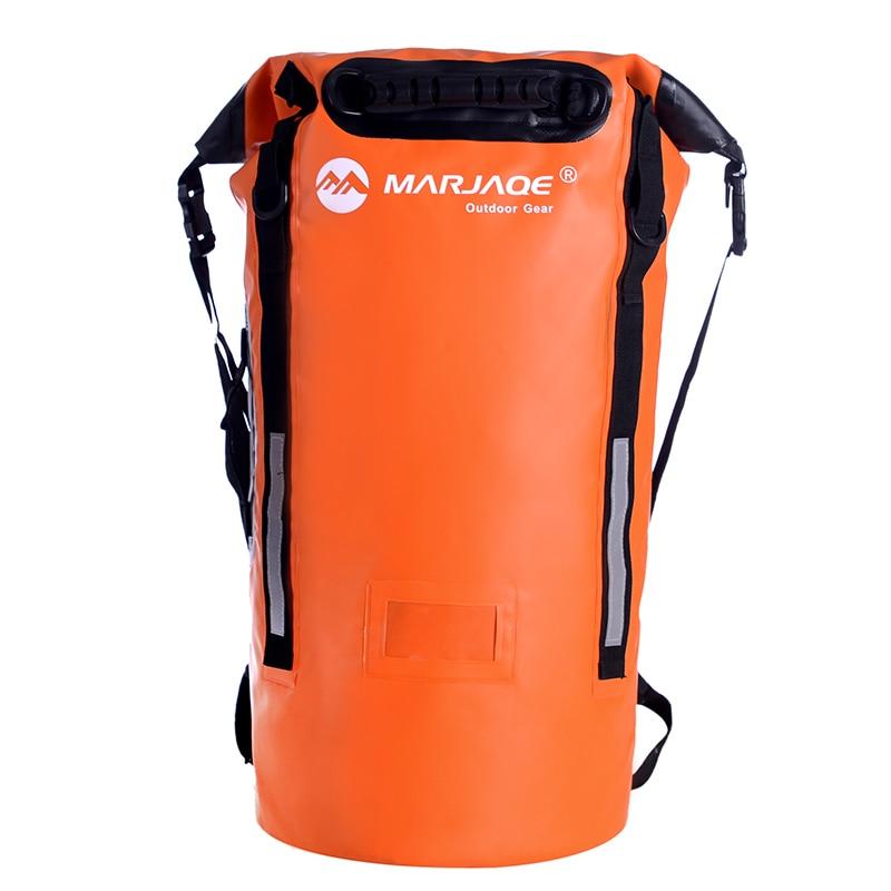 Sac étanche extérieur Portable ultra-léger 40L sac à dos de natation sac de rangement sac sec randonnée canoë kayak sacs