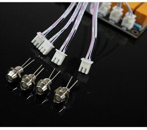 Image 5 - AC/DC 4 giriş 1 çıkış ses giriş sinyali seçici röle kartı Stereo sinyal anahtarlama amplifikatör kurulu RCA hoparlörler