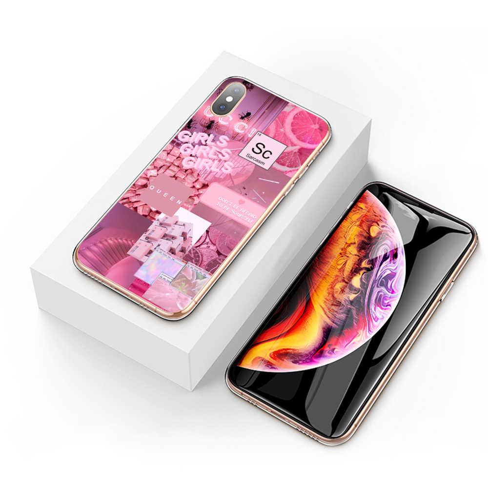 Funda dura para teléfono Lavaza Rosa estética para Huawei P30 Pro Lite Nova 3 3i para Honor 8 9 10 Lite 7A Pro P30Lite