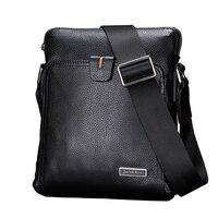 TOP Genuine Leather Men Bags Business Fashion Men Messenger Bag Brand Designer Crossbody Men S Shoulder
