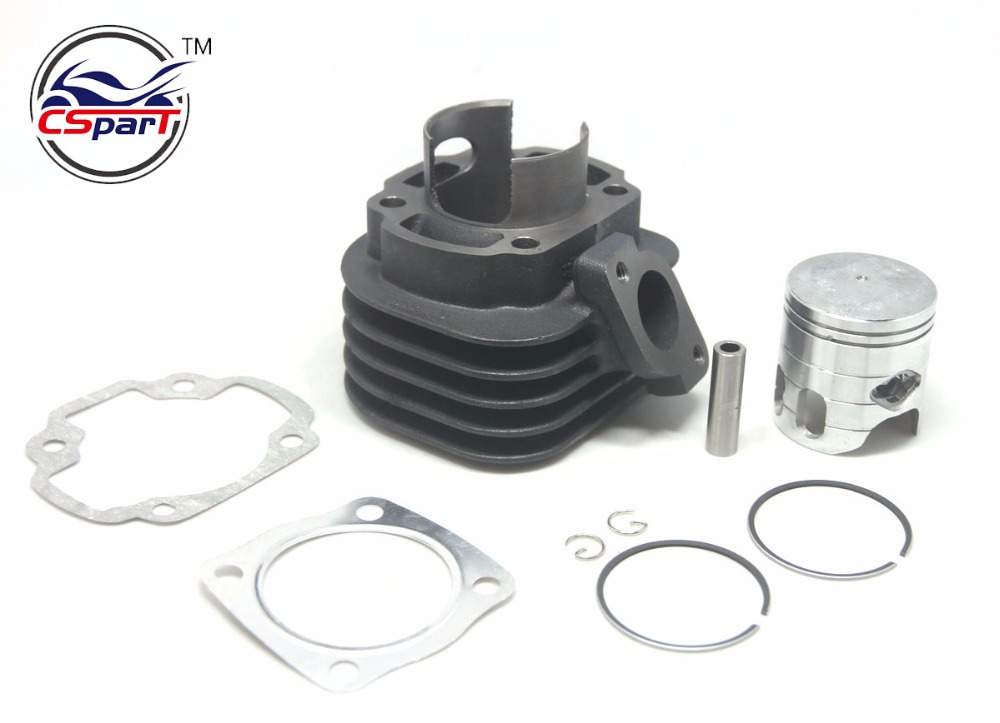 цена на Big bore 47mm 10mm 12mm Cylinder Piston Ring Gasket Kit Change JOG 50CC to 70CC ATV Buggy 1P40QMB CPI Keeway Scooter