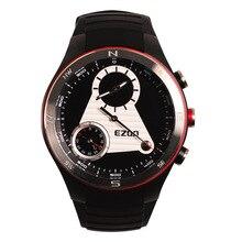 EZON часы многофункциональные системы класса альпинизм компас высоте температуры два водонепроницаемый мужские часы H603A