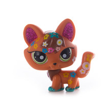 Lps old collection Pet Shop Lps cat Toys  Short Hair Cat Action Standing Figure Cosplay Toys Children Best Gift new pet genuine original lps 2341 green eye sparkle glitter fox cat toys