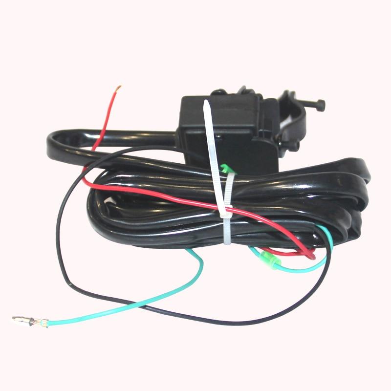 Treuil voiture tuning treuil électrique 2000/3000/4000 lb12v 12 m câble métallique ATV treuils pour plage buggy bateau palan auto-assistance sauvetage - 5
