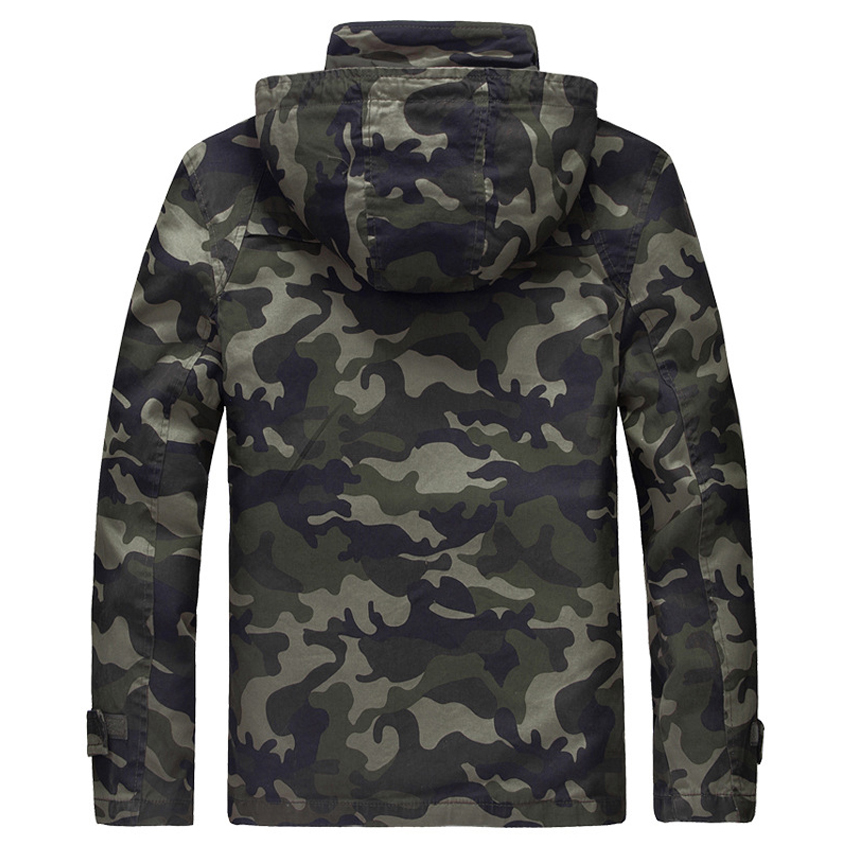 NaranjaSabor Autumn Winter Men's Military Jackets Camouflage Thick Men Casual Outerwear Windbreakers Army Tactical Clothing N441-in Jackets from Men's Clothing    3