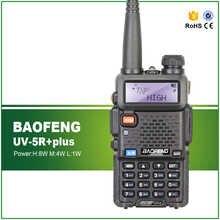 New Arrival Tri Power 8W/4W/1W Dual Band 136-174/400-520MHZ CTCSS DCS BAOFENG UV-5R Plus Ham Amateur Radio Transceiver