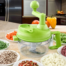 Manual Food Processor For Meat Vegetable Separator Convenient Blender Grinder
