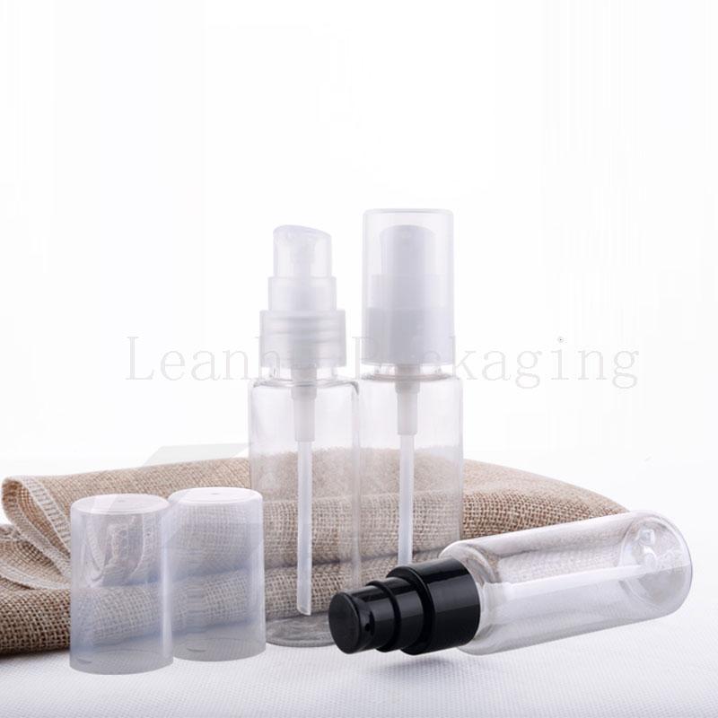 40ml transparent bottle with cream pump (2)