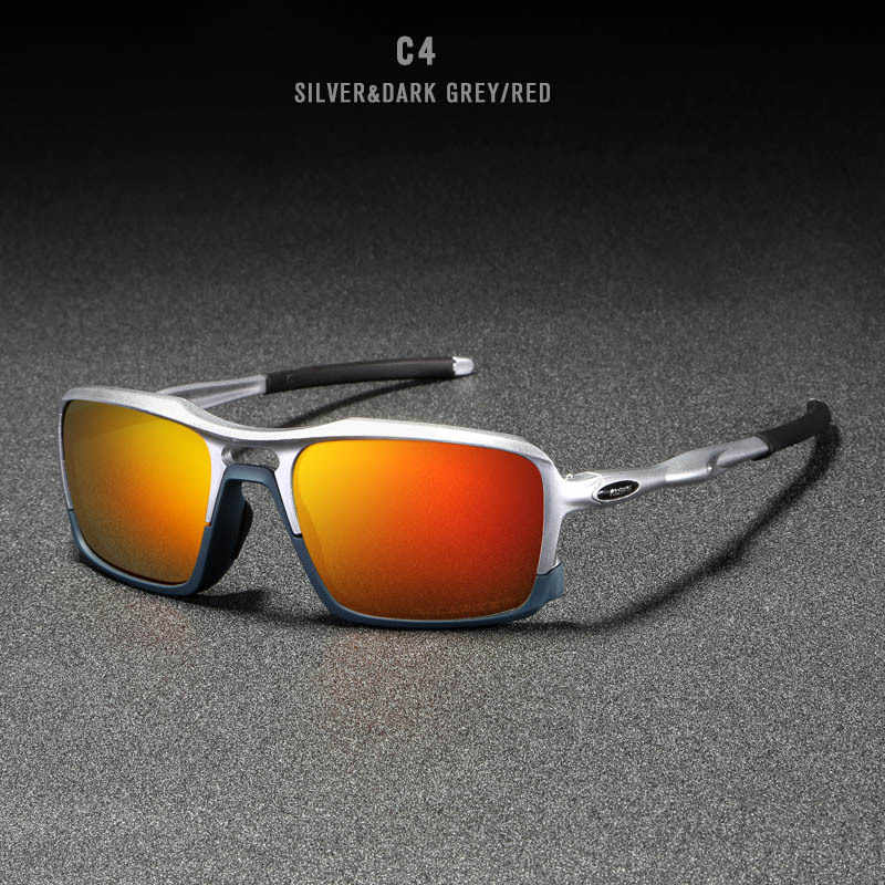 2019 Men's Sun Glasses TR90 Light Frame Top Luxury Brand Polarized Sunglasses Pilot Mens Driving Mirror Sunglasses Male Eyewear
