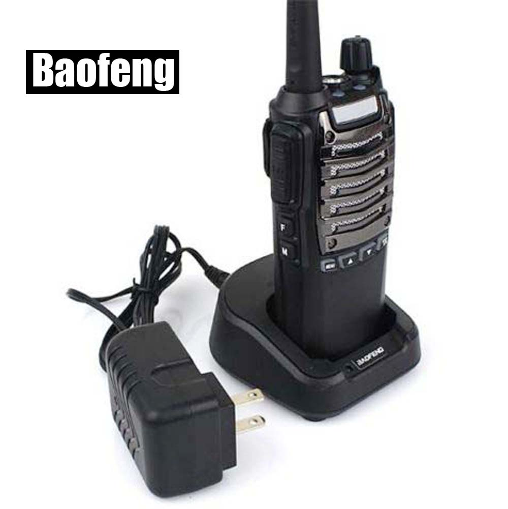 BAOFENG UV-8 talkie-walkie 5 W 128CH UHF + VHF double bande double montre double PPT Radio Portabe Ham Radio bidirectionnelle pièces de télécommunication