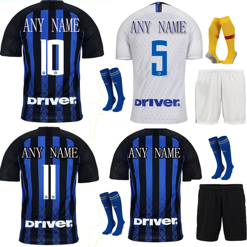 fa67cac80 The European 2018 19 New Men s Customized Name Numbers Soccer Jerseys sets Top  AAA Quality Football Team Soccer Uniforms-in Soccer Jerseys from Sports ...