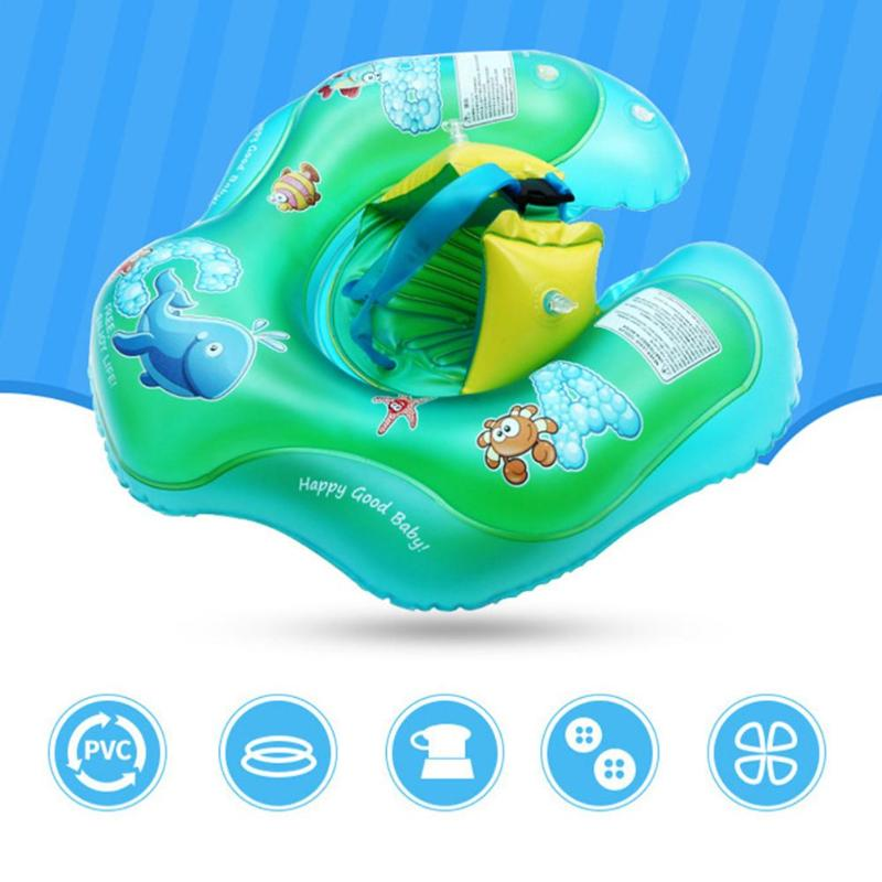 Professional Sale Environmentally Friendly Inflatable Childrens Swimming Ring 1.5 Months Toys & Hobbies 3 Years Old Baby Anti-rollover Inflatable Swimming Ring
