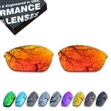 5c2e77e531 ToughAsNails Polarized Half Jacket 2.0 Óculos De Sol De Lentes de Reposição  para óculos Oakley-Várias Opções