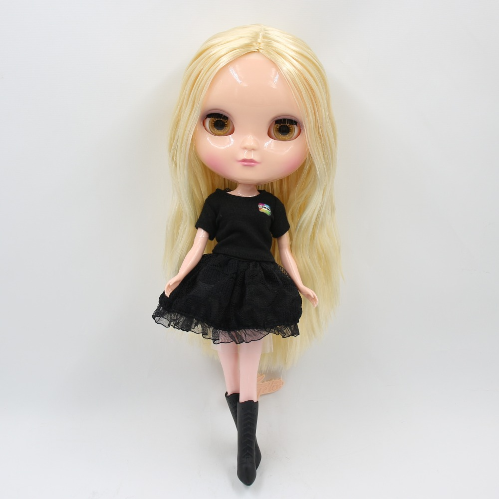 Natural Skin Body With Flexible Joints For 12/'/' TAKARA Neo Nude Blythe Doll