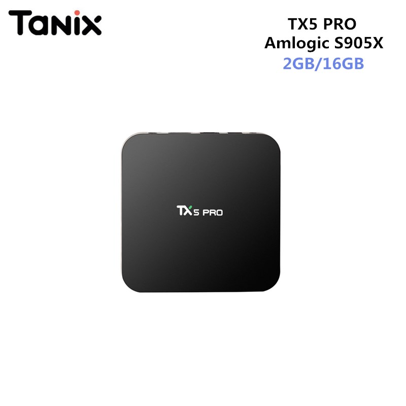 Tanix TX5 Pro Amlogic S905X Android 6.0 Set Top Box 4k 1.5GHz 2G/16G KD Smart Media Player WiFi Bluetooth 4.0 Set-top Box
