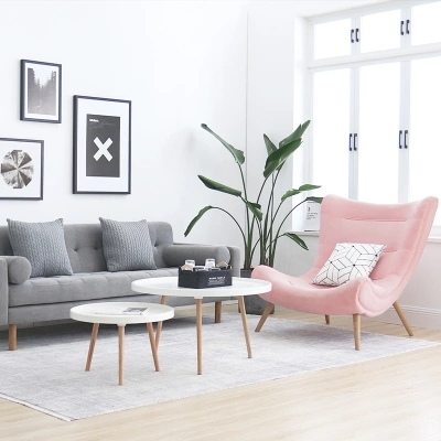Single Sofa Nordic Lounge Chair Snail Chair Modern Minimalist Cloth Tiger  Chair In Living Room Chairs From Furniture On Aliexpress.com | Alibaba Group