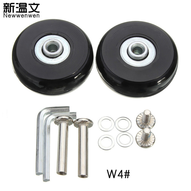 Replacement wheels for luggage,Luggage Suitcase Replacement Wheels Axles Deluxe Repair 50*18mm W4#