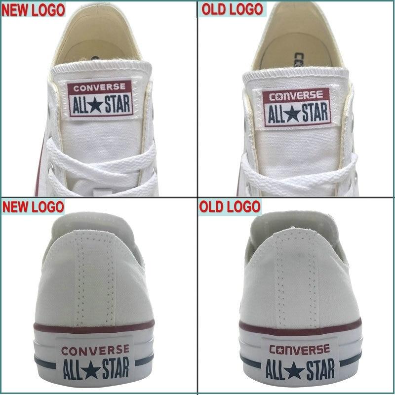 Nouveau Original Converse all star chaussures en toile pour hommes et femmes baskets mode classique Chaussures de Skateboard - 6