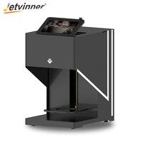 Jetvinner 3 D Цифровой кофе принтер струйный Selfie печатная машина пищевые принтеры для кофе, поздний, молочный чай, торт, хлеб, печенье