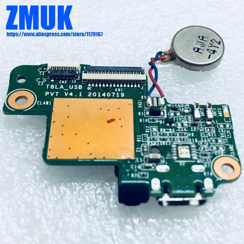 Micro USB зарядный порт Гибкая плата T8LA_USB для Lenovo Ideapad S8-50F 8