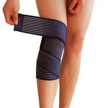Hurtownie 200 sztuk partia wsparcie kolana bandaż elastyczny nogi kompresji łydki Kneepad sport piłka nożna piłka kosz na rękę kostki wsparcie tanie i dobre opinie none Adult nylon+Polyester+latex